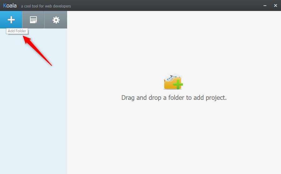 Koala プロジェクト登録