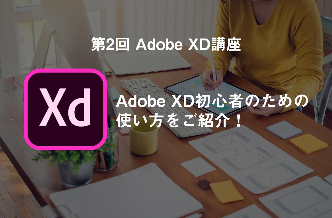 【第2回 XD講座】Adobe XD 初心者のための使い方をご紹介!